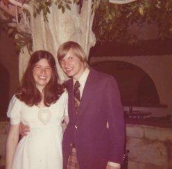 Jerry & Nancy April 20 1973
