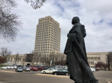 ND Capitol and Statue