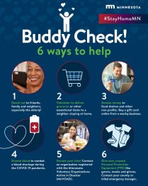 Six ways to help